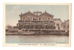 34 Palavas, Au Jardin De Ma Soeur (2612) (2) L300 - Palavas Les Flots