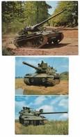 Militaire Armee Lot 8 Cp Char AMX 30 Obusier Mortier Canon Fusée Engin Anti Char - Matériel
