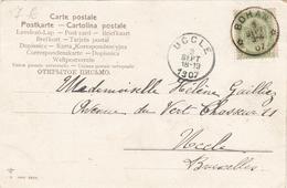 RELAIS BOHAN N° 56 SUR CARTE POSTALE - Poststempels/ Marcofilie