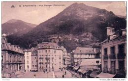 D65  CAUTERETS  Rue Georges Clemenceau  ..... - Cauterets