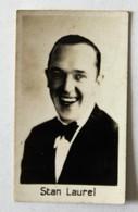 Belle Chromo Photo Stan Laurel Cinéma Acteur Anglais Laurel Et Hardy - Chromos