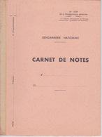 MILITARIA - CARNET DE NOTE GENDARMERIE NATIONALE - VIERGE EDITION 1956 - Documents