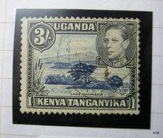 KENYA UGANDA TANGANYIKA 1938. King George VI. Lake Naivasha. 3S. SG 147ac. Used. - Kenya, Uganda & Tanganyika