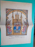 RARE LITHOGRAPHIE COULEUR JUBILE DE N-D DU PUY EN VELAY MARS 1921 Colorisée à La Main Auvergne 43 Haute Loire - Lithographies