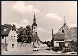 B4055 - Zeithain Kr. Riesa - Auto PKW  Trabant Kennzeichen TOP - Zeithain