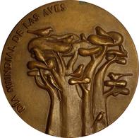 ESPAÑA. MEDALLA DE LA JUNTA DE ANDALUCÍA. DÍA MUNDIAL DE LAS AVES. 2.007. ESPAGNE. SPAIN MEDAL - Profesionales/De Sociedad