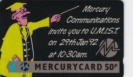 Mercury, MER323, MCL - U.M.I.S.T., Mint In Blister, 2 Scans.   20MERA/W - United Kingdom