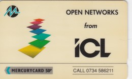 Mercury, MER357, ICL - Open Networks, Mint, 2 Scans. - United Kingdom