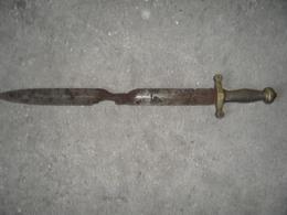 Glaive A Identifier,pompier,infanterie,garde Champetre,eaux Et Forets??? - Knives/Swords