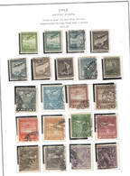 Chile PA 1934/39 Planes Over +Scott.C 30/50 Used See Scan On Scott.Page - Cile