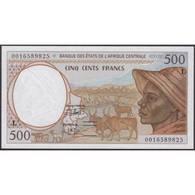 TWN - GABON (C.A.S.) 401Lg - 500 Francs 2000 UNC - Gabon