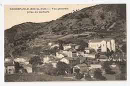 07 Rochepaule, Vue Générale Prise Du Calvaire. Carte Inédite (2627) L300 - Other Municipalities