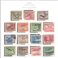 Chile PA 1941/42  Planes Over +Scott.C 54/68 New See Scan On Scott.Page - Cile