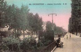 V14221 Cpa 92 Courbevoie - Avenue Gambetta - Courbevoie