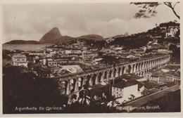 """Bresil .""""  Rio De Janeiro """" Acqueduc  """" Carte Glacee - Rio De Janeiro"""