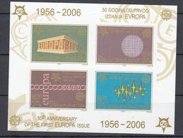 """Jugoslavia (2006) - 50* Anniversario Del Francobollo """"Europa"""" - Europa-CEPT"""