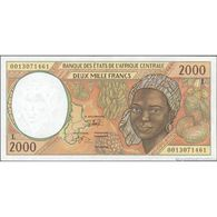 TWN -  GABON (C.A.S.) 403Lg - 2000 2.000 Francs 2000 AU - Gabon