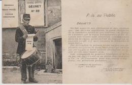 """Agent Banlair  """" Avis Au Public """" Tambour De Ville  ) - Unclassified"""
