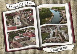 COURRIERES...edit Lapie  En Avion Au Dessus De..no.115 - Francia