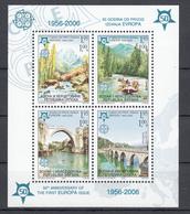 "Bosnia Erzegovina (2006) - 50* Anniversario Del Francobollo ""Europa"" - 2006"