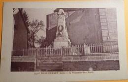 Montiéramey (Aube) - 10 - Le Monument Aux Morts - France