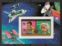 Centrafricaine - 1982 - Bloc BF N°Yv. 32 - Space Shuttle - Non Dentelé / Imperf. - Neuf Luxe ** / MNH / Postfrisch - Space