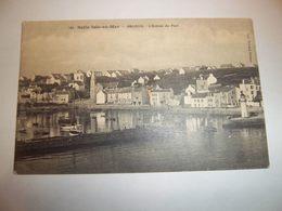 6cct -  CPA N°161 - BELLE ILE EN MER - SAUZON - L'entrée Du Port -  [56] Morbihan - - Belle Ile En Mer