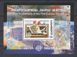 """Georgia (2006) - 50* Anniversario Del Francobollo """"Europa"""" - 2006"""
