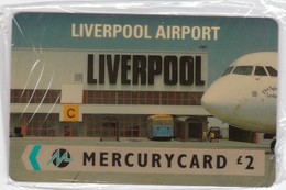 Mercury, MER148, Liverpool Airport, Airplane, Mint In Blister. - United Kingdom