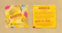 POCHETTE ECHANTILLON SACHET POCKET YVES ROCHER - Perfume Cards