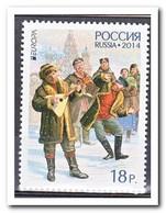 Rusland 2014, Postfris MNH, Europe, Cept, Music - 1992-.... Federazione