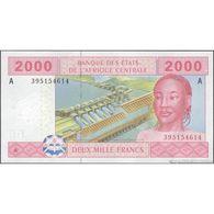 TWN - GABON (C.A.S.) 408Ac1 - 2000 2.000 Francs 2002 (2013) UNC - Gabun