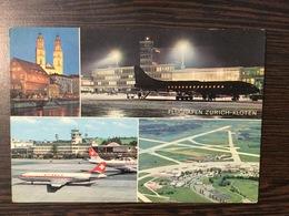AK  AERODROME  AIRPORT   ZÜRICH  KLOTEN - Aerodrome