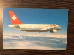AK  AIRPLANE  SWISSAIR   AIRBUS A320 - Aerodrome