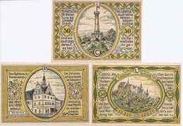 Notgeld   Colditz  3 X 50 Pf 1921 - [11] Emissioni Locali
