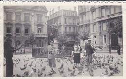 MINI-PHOTO----33---BORDEAUX---statue Gloria Victis Place Jean Moulin---voir 2 Scans - Photographie