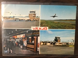 AK  AERODROME  AIRPORT VAXJO  SWEDEN  1978. - Aerodrome