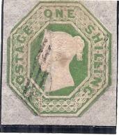 // N°7 Côte  1000€ Vert - Decollé De Son Support Papier - 1840-1901 (Regina Victoria)