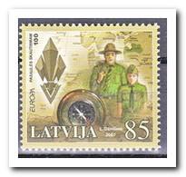 Letland 2007, Postfris MNH, Europe, Cept, Scouting - Letland