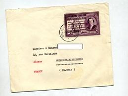 Lettre Cachet Bruxelles Sur Mozart - Marcophilie