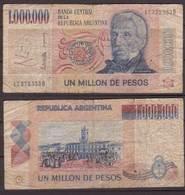 Argentinien , 1,000,000 Pesos , P-310 , VG - Argentinien