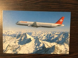 AK  AIRPLANE  SWISSAIR   AIRBUS A321-111 - 1946-....: Moderne