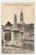 07 Saint André De Cruzières, Monument Aux Morts Et Clocher (2641) L300 - Other Municipalities
