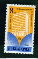 + 2868 Bulgaria 1979 20 Years International Journalists' Club, Varna - International Holiday Home For Journalists ** MNH - Bulgarie