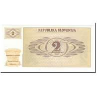 Billet, Slovénie, 2 (Tolarjev), 1990, KM:2a, SPL+ - Slovenia