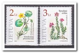 Litouwen 2001, Postfris MNH, Plants - Litouwen