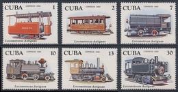 Cuba 1980 Mi 2506 /11 ** Early Locomotives / Alte Lokomotiven - Cuba