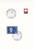 K-Stempel Hohfluh (Hasliberg) Auf PTT-Bögli (br3898) - Brieven En Documenten