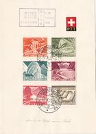 Olma 1952 Auf PTT-Bögli (br3903) - Switzerland