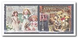 Letland 2015, Postfris MNH, Europe, Cept, Toys - Letland